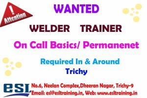 welder trainer